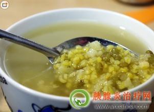 胰腺炎可以吃绿豆粥吗