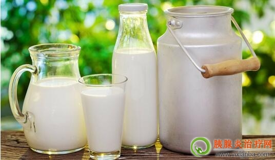 有胰腺炎的人可以喝牛奶吗