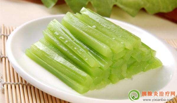 胰腺炎吃莴苣好