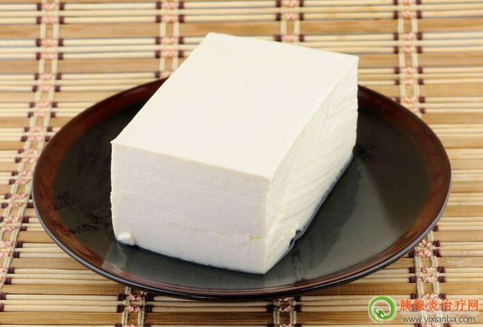 胰腺炎出院一星期可以吃豆腐吗