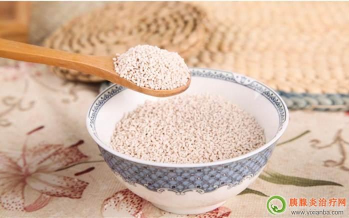 胰腺炎出院后血糖高有糖尿病能吃藕粉吗