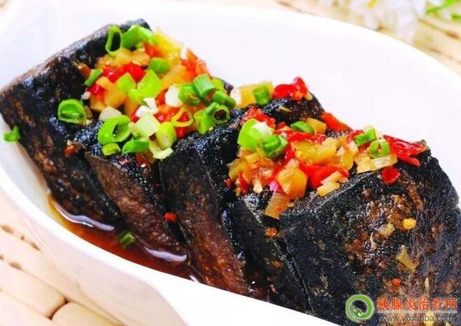 胰腺炎可以吃臭豆腐吗