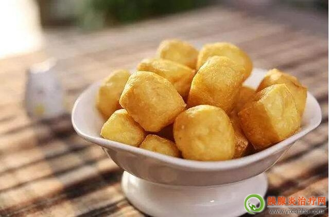 胰腺炎出院后可以吃豆腐泡吗