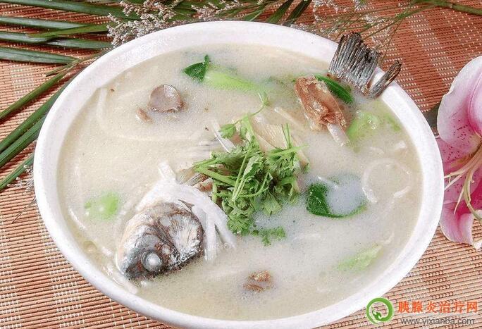 胰腺炎可以吃鲫鱼豆腐汤吗