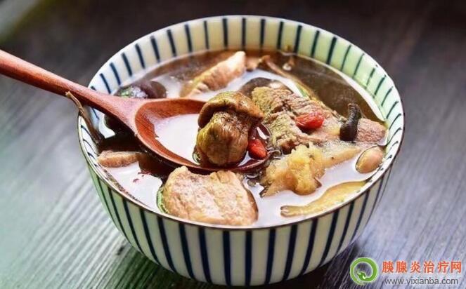 胰腺炎可以喝瘦肉汤吗